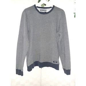 Abercrombie & Fitch Navy Long Sleeve Sweatshirt